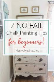 these 7 no fail chalk painting tips for beginners prove that anyone can learn to paint