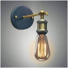 senarai harga vintage industrial wall sconce lights retro wall lamp 110v 220v e27 e26 indoor bedroom bathroom balcony bar aisle lamp terkini di malaysia