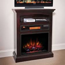 raleigh espresso 1 000 sq ft infrared electric fireplace a great unit for small