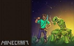 Minecraft Fan Art Wallpaper - Epic ...