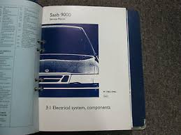 1985 1995 saab 9000 electrical system components wiring diagrams 1985 1995 saab 9000 electrical system components wiring diagrams service manual 2
