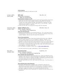 resume   other testing
