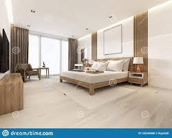 Modern Light Wood Furniture Modern Light Bedroom With Wooden Furniture In Scandinavian