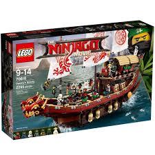 Bộ đồ chơi xếp hình Lego Ninjago 70618 - Destiny's Bounty - Tàu Huấn Luyện  Ninja