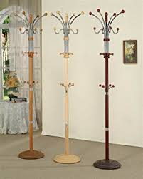 Coat Rack Definition Amazon Coat Stand Wood and Metal DARK CHERRY Kitchen Dining 86