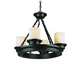 trans globe lighting rustic lodge oil rubbed bronze four light 20 wide mini chandelier