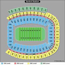 Georgia Florida Football Seating Chart Gator Stadium Seating Chart Seating Chart