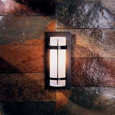hubbardton forge 305893 banded led exterior wall light fixture loading zoom
