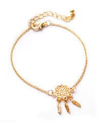 Dream Catcher Gold Bracelet Pameng New Fashion Silver Color Dreamcatcher Charm Bracelets For 19