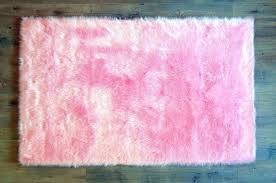 blush pink faux fur rug hot in black round sheepskin washable captivating area machine 4 x pink faux fur rug