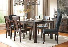 dining room tables with upholstered chairs. trudell dining set with 4 side chairs, and 2 upholstered chairs | lexington overstock warehouse room tables