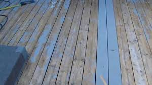 Make Latex Paint Or Stain Stick To A Wooden Deck Youtube
