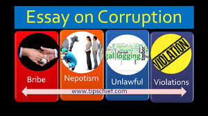 article on corruption short essay or speech on corruption tips quiz corruption short essay