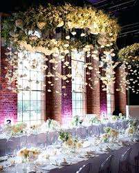 hanging fl chandelier flowers the hanging centrepiece wedding hanging mini chandelier candle centerpieces