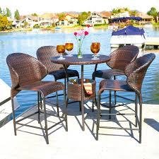 patio bar dining sets. bennett bristo set patio bar dining sets e