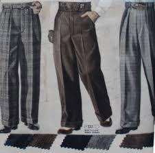 Mens Pants Pattern Extraordinary New 48s Style Men's Pants