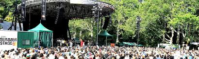 Summerstage Seating Chart Central Park Summerstage At Rumsey Playfield Tickets And