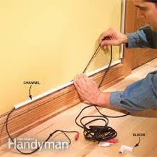 how to hide wiring speaker and low voltage wire the family handyman install plastic raceways