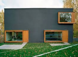 Contemporary Scandinavian Architecture  Four Rooms Make an Innovative  House Plan
