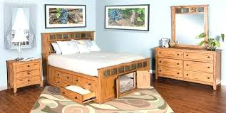 Mission Style Queen Size Bed Frame King Beds Furniture Flush Home ...