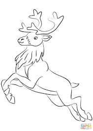 15 New Santa Claus With Reindeer Coloring Pages Karen Coloring Page