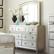 Bling Game Dresser with 7 Drawers and Stacked Bun Feet and Mirror Set by Coaster at A1 Furniture & Mattress