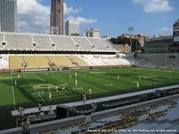 Bobby Dodd Stadium View From Lower Level 108 Vivid Seats