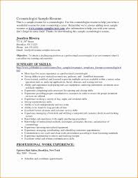 Cosmetologist Resume Template Awesome Resume Templates For Cosmetology Fresh Cosmetology Resume Template