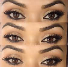 brown eyes makeup beautiful and eye image