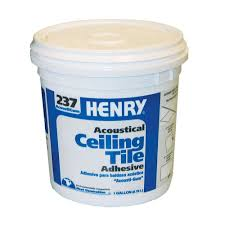 acoustical ceiling tile adhesive