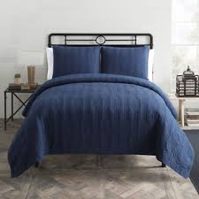 Buy Navy King Quilt from Bed Bath & Beyond & Seedling by ThomasPaul® Nautical King Quilt Set in Navy Adamdwight.com