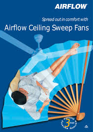 airflow eiling sweep fans 1 4 pages