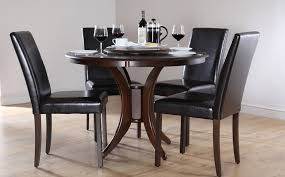 dark wood round dining table uk photos and pillow