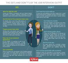 The Do S And Don Ts Of An Interview Ajilon Luxembourg The Dos And Donts Of The Job