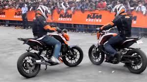 ktm duke bike stunt full hd