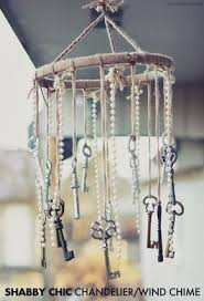 DIY Wind Chimes - Shabby Chic Chandelier Wind Chime - Easy, Creative and  Cool Windchimes