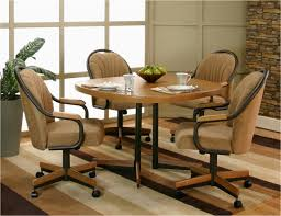 swivel dining chairs with casters. Swivel Dining Chair Ideas Room Chairs Casters With Modern House And Furniture Set