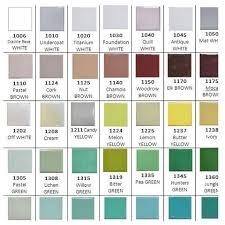 Enamel Colour Chart Koodak Jewellers Supplies