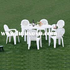 innovative white plastic patio table and chairs and patio plastic patio table and chairs plastic patio