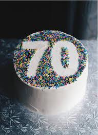70th Cake Designs 70th Sprinkle Birthday Cake Www Crumbsandtea Com 70th