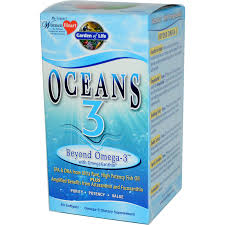 garden of life oceans 3 beyond omega 3 with omegaxanthin 60 softgels