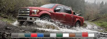 2016 Ford F 150 Color Options