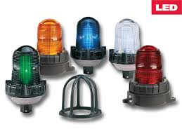 191xl flashing led hazardous location warning light