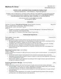 Example Of A Resume Format Mesmerizing Example Resume College Student No Work Experience Resume Format For