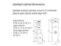 Standard Height For Kitchen Cabinets Impressive Design