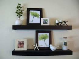 espresso wall shelves picture frame wall shelf unique espresso wooden floating shelf decorating white wall with