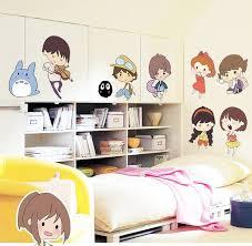 diy japanese bedroom decor. Diy Japanese Bedroom Decor. Anime Portrait Wall Stickers Decals Cartoon Girls Boys Head DIY Decor B