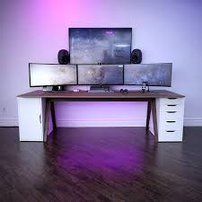 custom office desk. Custom Office Desk Lovely Credits Unboxtherapy Setup Sickkk Desks