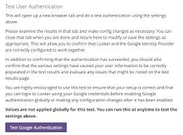 google authentication