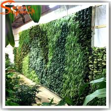 garden vertical green grass wall factory artificial hanging for plants decor plastic plant decoration fake fake grass decor
